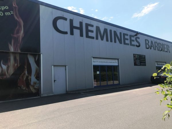 MAGASIN EXPOSITION CHEMINEES BARBIER ENTREPRISE certifiée QUALIBOIS