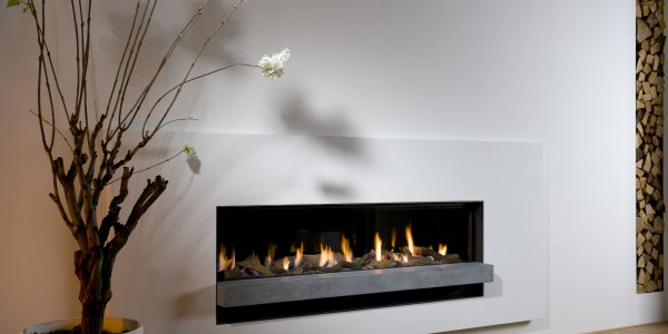 BELLFIRES – Foyer à gaz horizontal XXL