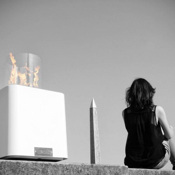 DESIGN ETHANOL – Cheminée CONCORDE de Ignisial